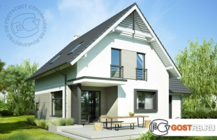 Проект дома м263