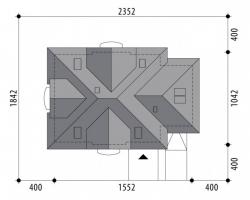 Проект дома м268