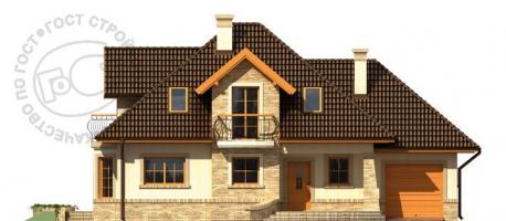 Проект дома м270