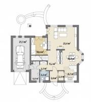 Проект дома м277