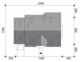 Проект дома м280