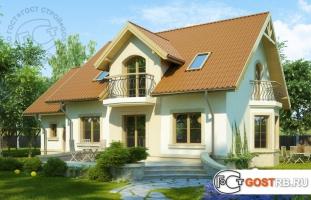 Проект дома м283