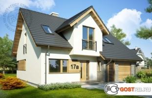 Проект дома м284