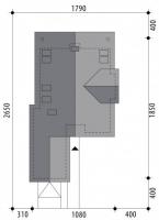 Проект дома м286