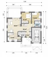 Проект дома м287