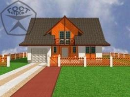 Проект дома м106