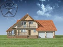 Проект дома м107