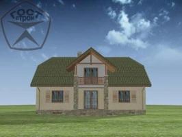 Проект дома м115