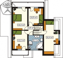 Проект дома м120