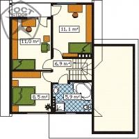 Проект дома м133