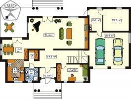Проект дома м135