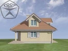 Проект дома м13