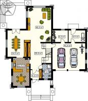Проект дома м140
