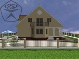 Проект дома м150