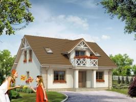 Проект дома м163