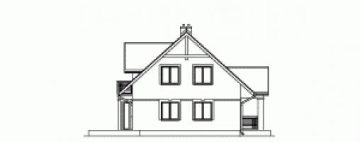 Проект дома м166