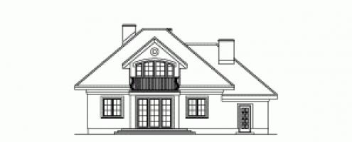 Проект дома м167