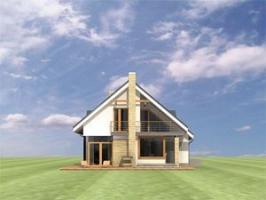 Проект дома м168