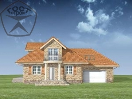Проект дома м16