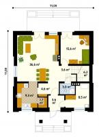 Проект дома м172