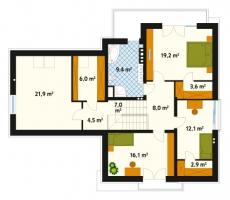 Проект дома м177