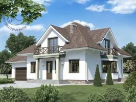 Проект дома м184