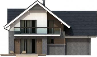 Проект дома м187