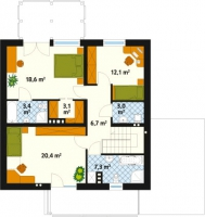 Проект дома м190