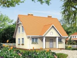 Проект дома м34