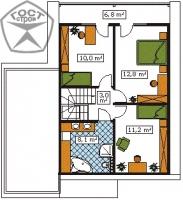 Проект дома м3