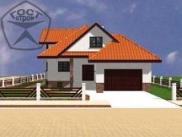 Проект дома м43