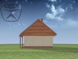 Проект дома м48