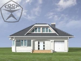 Проект дома м54