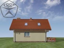 Проект дома м55