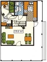 План 1-го этажам