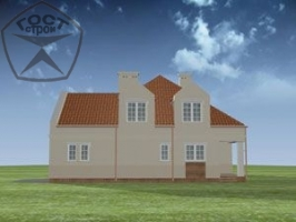 Проект дома м62