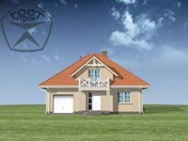 Проект дома м6