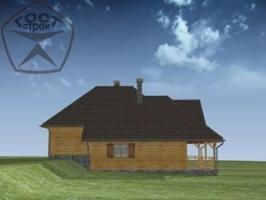 Проект дома м70