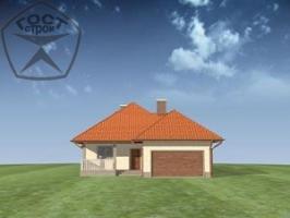 Проект дома м74