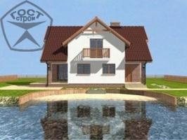 Проект дома м76