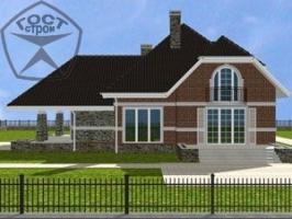 Проект дома м80