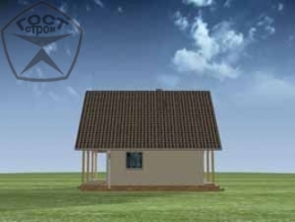 Проект дома м83