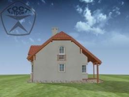 Проект дома м85