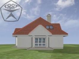Проект дома м86