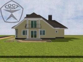 Проект дома м88