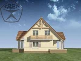 Проект дома м95