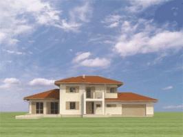 Проект дома д18