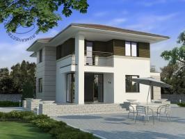 Проект дома д20