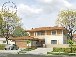 Проект дома д25