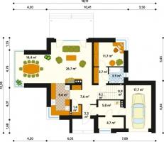 Проект дома д26